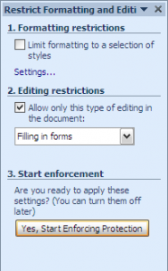 word forms08   Make A Fillable Form In Word 2010 & Collect Data The Easy Way